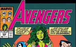 Avengers (1963) #308 Cover