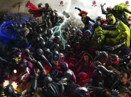 Marvel's Avengers: Age of Ultron concept art by Ryan Meinerding, Charlie Wen & Andy Park