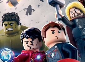 age of ultron LEGO poster