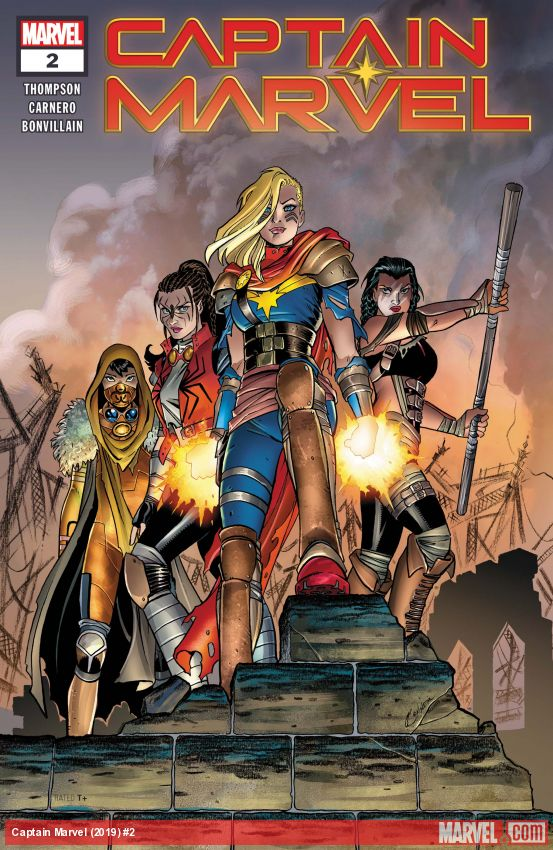 Captain Marvel (2019) #2