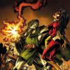 Image Featuring Avengers, Doctor Doom, Sentry (Robert Reynolds), Spider-Woman (Jessica Drew), Wonder Man