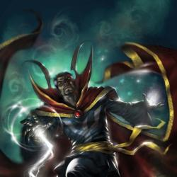 The Mystic Hands of Doctor Strange #1 cover by Lucio Parrillo