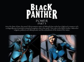 Recap Page for BLACK PANTHER #9