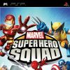 Marvel Super Hero Squad Video Game PSP Box Art