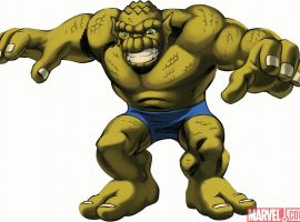 Images from marvel super hero squad video game spotlight abomination