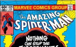 AMAZING SPIDER-MAN #229 COVER