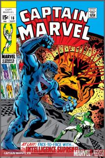 Captain Marvel (1968) #16