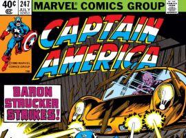 CAPTAIN AMERICA #247 COVER