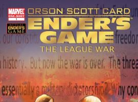 ENDER'S GAME: THE LEAGUE WAR #1 cover by Pasquel Ferry