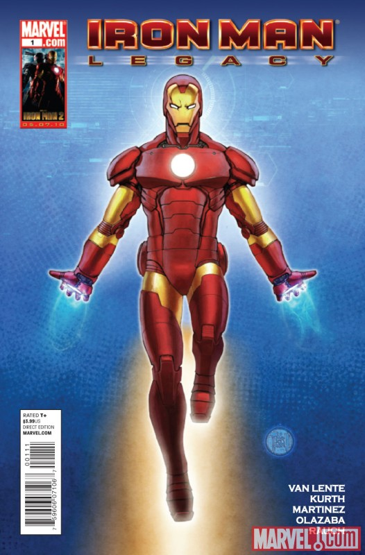 IRON MAN LEGACY #1 cover by Francis Tsai