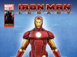 IRON MAN LEGACY #1 cover by Francis Tsai