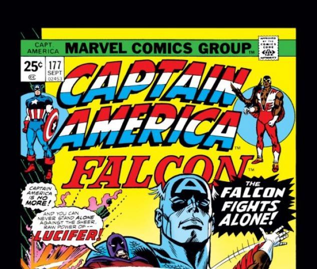 CAPTAIN AMERICA #177 COVER