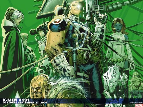 X-Men (2004) #191 Wallpaper
