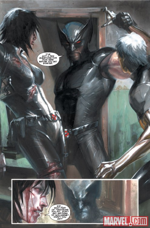 X-FORCE: SEX AND VIOLENCE #1 preview art by Gabriele Dell'Otto