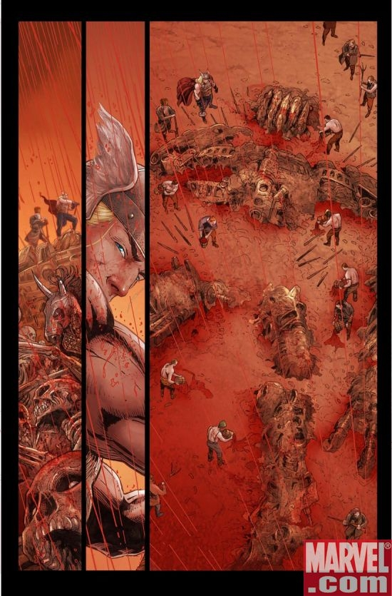 THOR: REIGN OF BLOOD Interior Page