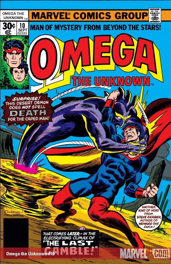 Omega the Unknown #10