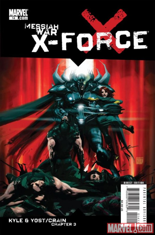 X-FORCE (2008) #14 cover