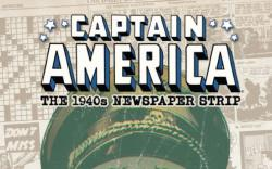 Captain America: The 1940s Newspaper Strip #3 cover by Butch Guice