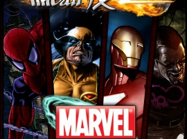 Marvel Pinball Xbox 360 Box Art