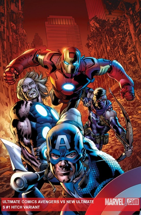 Ultimate Comics Avengers Vs New Ultimates (2010) #1 Hitch Variant