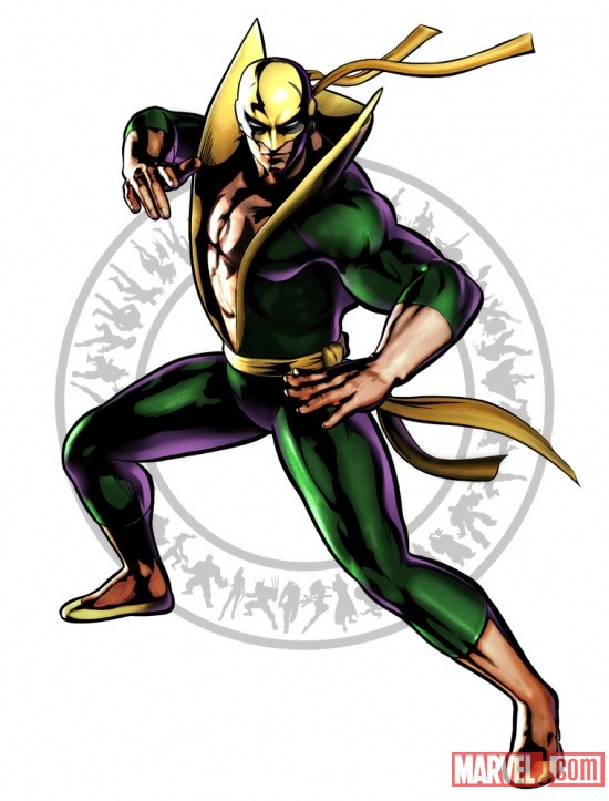 Ultimate Marvel vs. Capcom 3 Iron Fist Character Shot