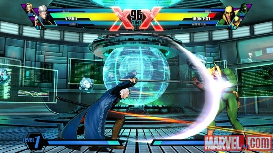 Ultimate Marvel vs. Capcom 3 Vergil Screenshot 12