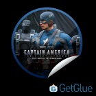 New Captain America GetGlue Sticker