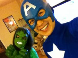 Tim Jo as Captain America