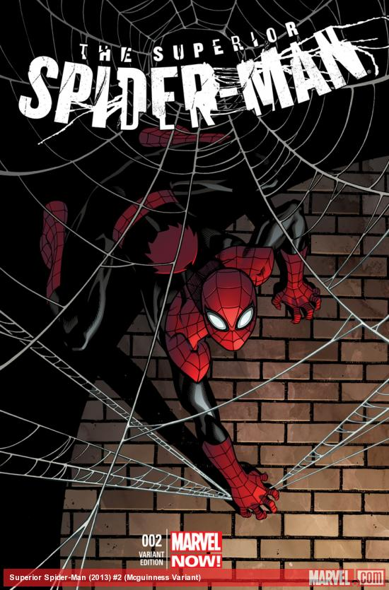 cover from Superior Spider-Man (2013) #2 (TBD ARTIST VARIANT)