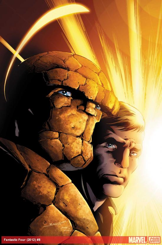 Fantastic Four (2012) #8 Cover