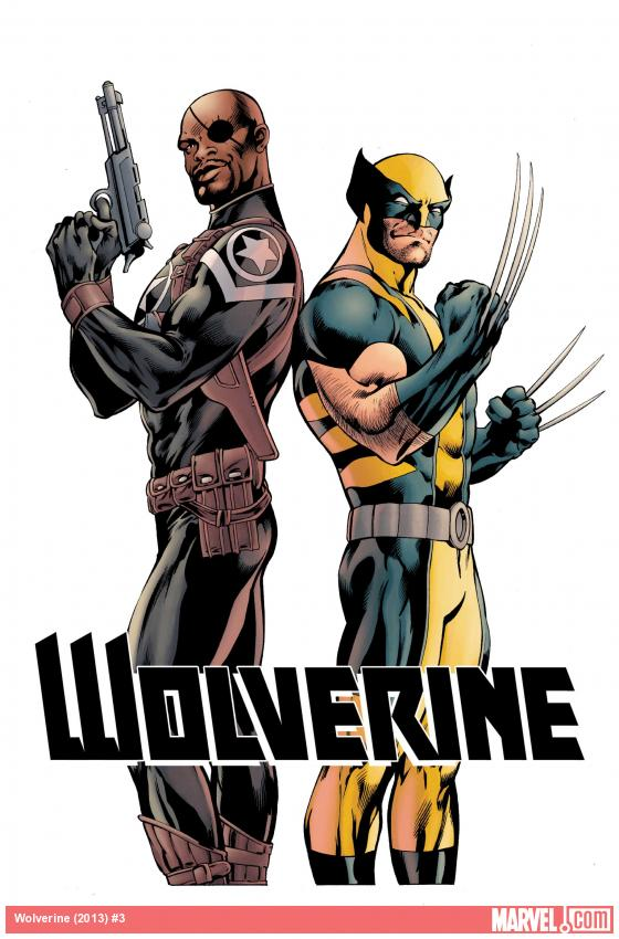 Wolverine (2013) #3 Cover