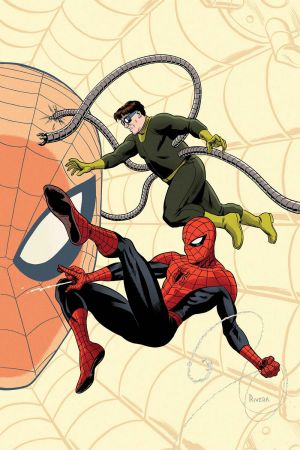 Superior Spider-Man Team-Up (2013) #12 cover by Paolo Rivera