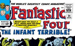 Fantastic Four (1961) #24 Cover
