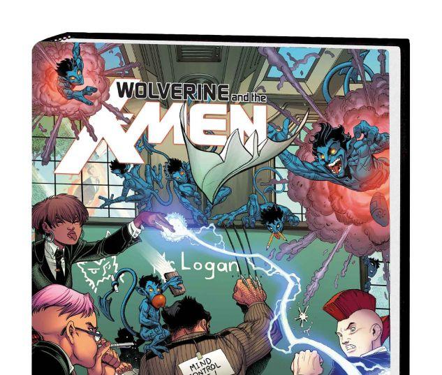 WOLVERINE & THE X-MEN BY JASON AARON OMNIBUS HC