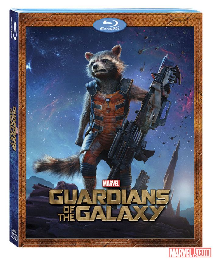 Guardians of the galaxy will be hitting the shelves on blu ray and dvd