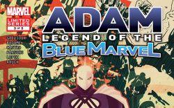 Adam Legend of the Blue Marvel #3 Cover