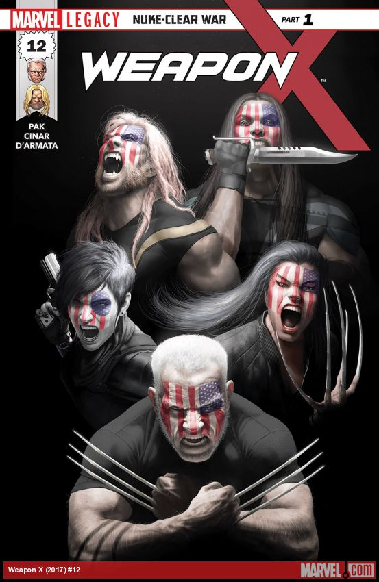 Weapon X (2017) #12