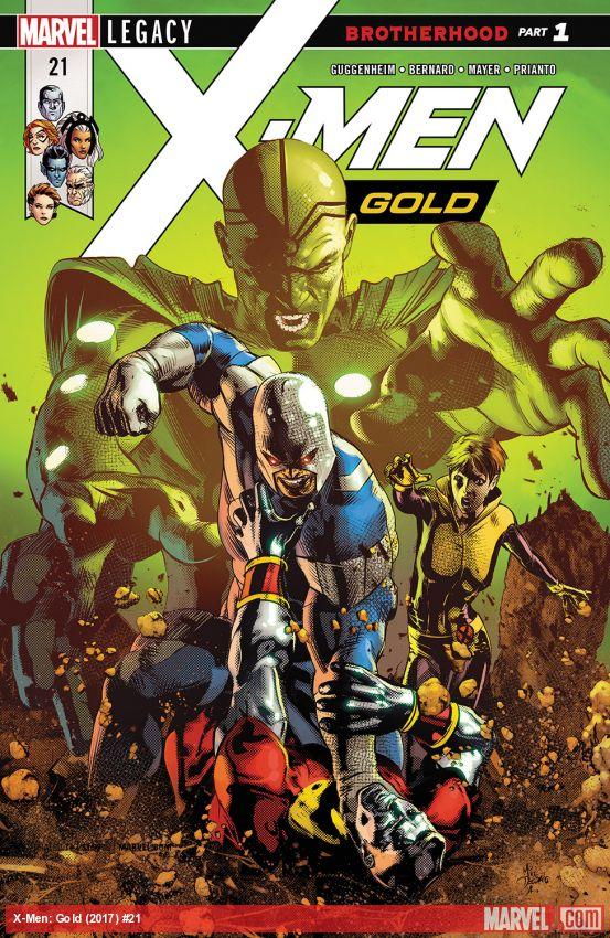 X-Men: Gold (2017) #21