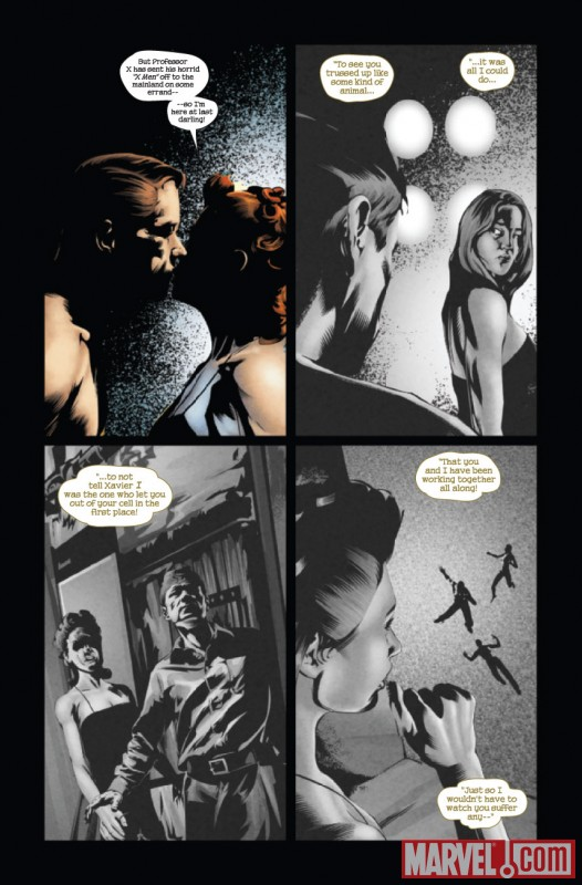 X-Men Noir: Mark of Cain #3 Art by Dennis Calero