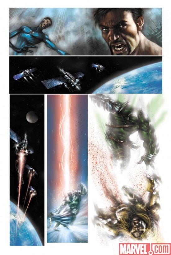 WHAT IF? WORLD WAR HULK preview art