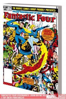Fantastic Four Visionaries: John Bryne Vol. 1 Tbp (Trade Paperback)