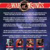 WAR OF KINGS #4, recap page