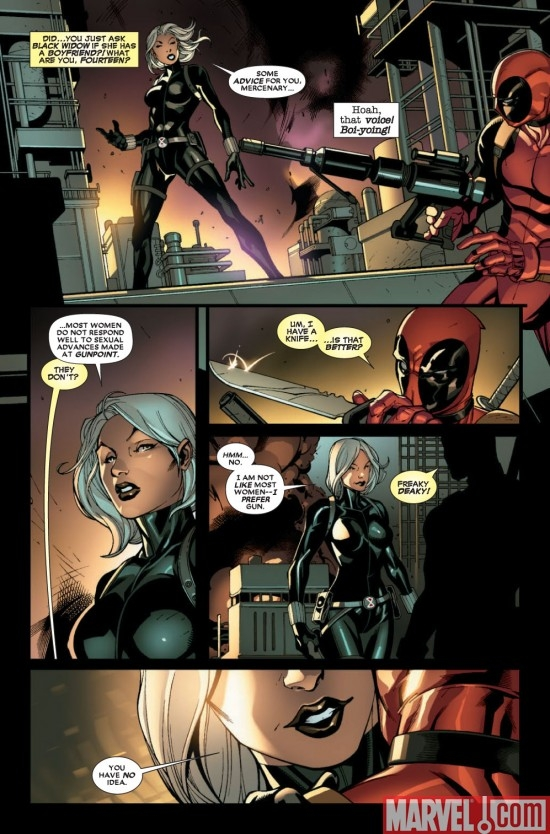 DEADPOOL #9 preview page 2