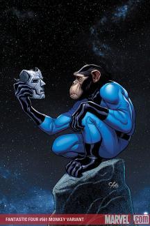 Fantastic Four (1998) #561 (MONKEY VARIANT (1 FOR 10))