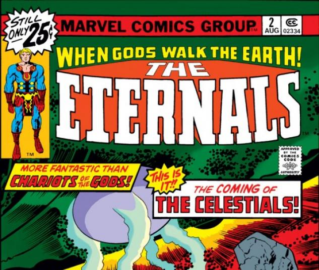 ETERNALS #2 COVER
