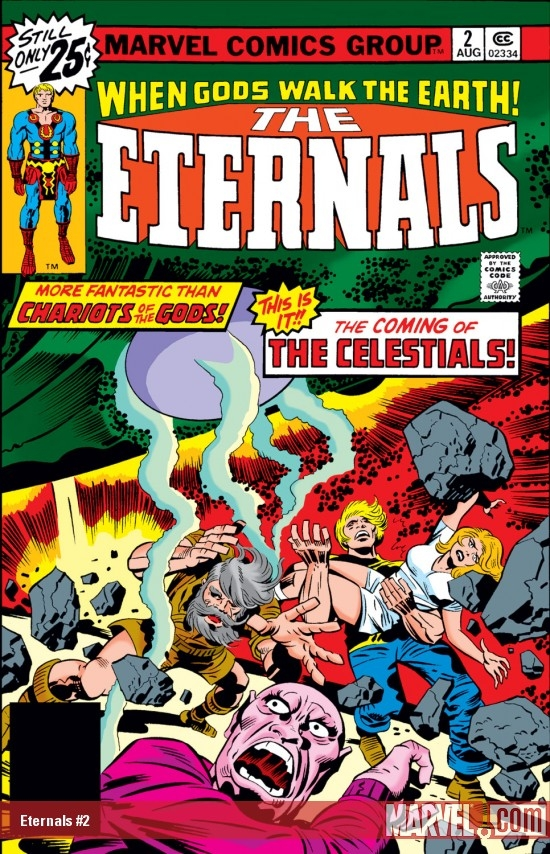 ETERNALS #2 COVER
