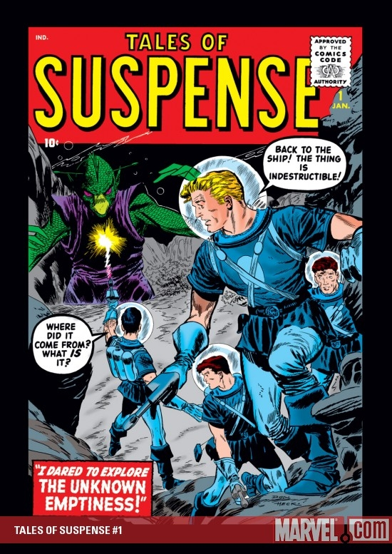 TALES OF SUSPENSE #1