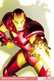 Marvel Adventures Iron Man (2007) #4
