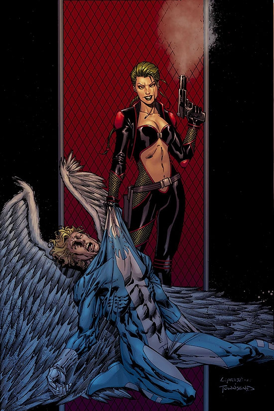 EXCALIBUR (2007) #12 COVER
