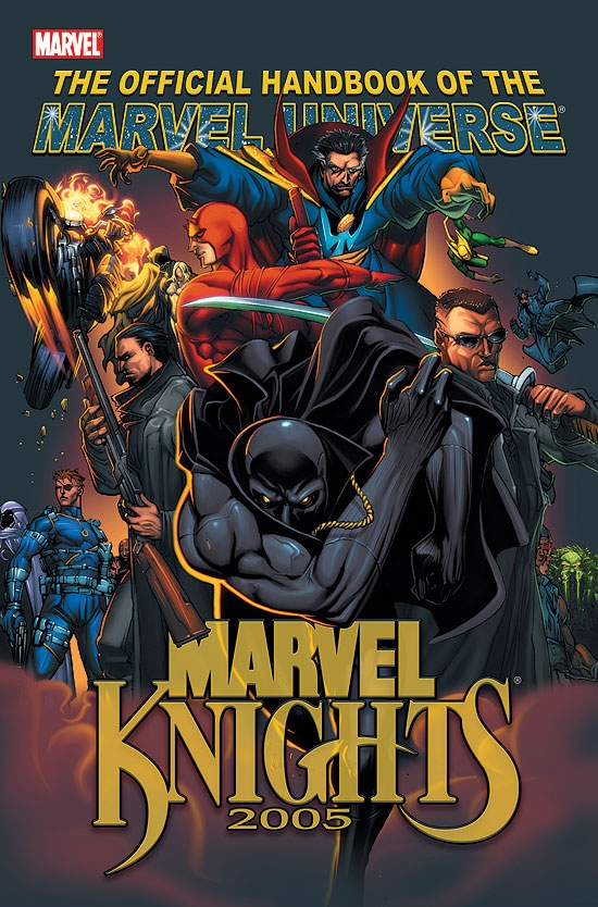 OFFICIAL HANDBOOK OF THE MARVEL UNIVERSE (2006) (MARVEL KNIGHTS) COVER